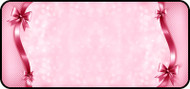 Ribbon Stripes Border Pink