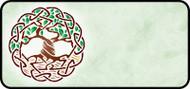 Celtic Tree of Life Green