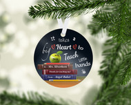 Big Heart Little Hands Ornament