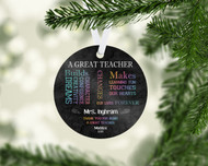 Great Teacher Ornament