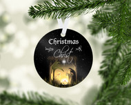 Begins with Christ Ornament