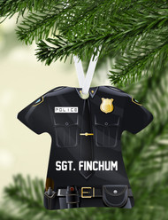 Police Uniform Ornament