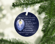 Christmas with Christ Ornament
