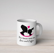 Love and Coffee Girl Mug