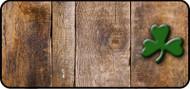 Wooden Shamrock