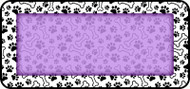 Paws & Bones Purple