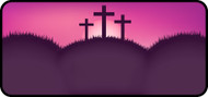 Sunset Cross Pink