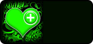 Med Heart Green