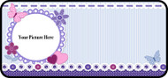 Quilted Purple Frame
