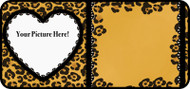Cheetah Heart Frame