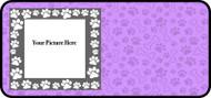 Paw Frame Purple
