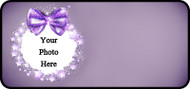 Bow Sparkle Purple Frame