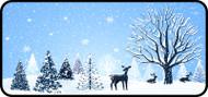 Snowfall Forest