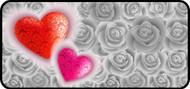 Damask Heart Roses