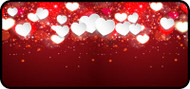 Heart Sparkle Red