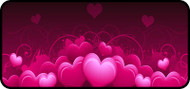 Royal Hearts Pink