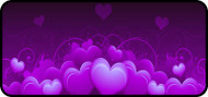 Royal Hearts Purple