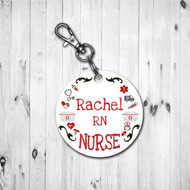 Nursing Love Keychain
