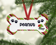 Pet Silly Stripes Ornament