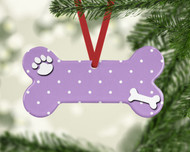 Pet Dots Lilac Ornament