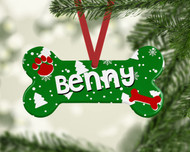 Pet Green Christmas Trees Ornament