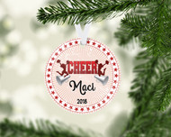 CHEER Red Ornament