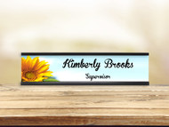 Sunflower Surprise Desk Plate w/ Insert