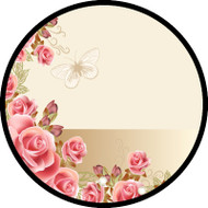 Sweet Roses Text Frame BR
