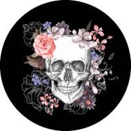 Skull Floral Pink BR