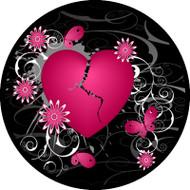 Broken Heart Pink BR