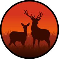 Boney Antlers Red BR
