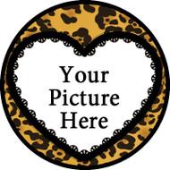 Cheetah Heart Frame BR
