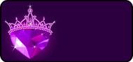 Crystal Crown Purple