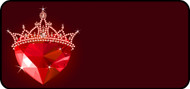 Crystal Crown Red