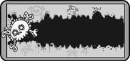 Emo Skull Gray