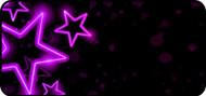 Glowing Purple