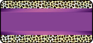 Silk Leopard Purple