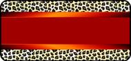 Silk Leopard Red