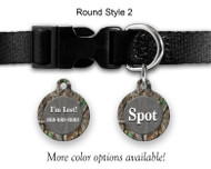 Tree Camo Gray Pet ID