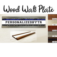 Shifting Wood Wall Plate Set