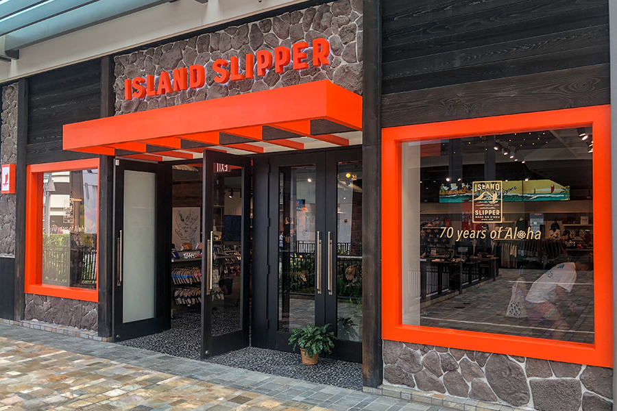 Island Slipper Ala Moana Location