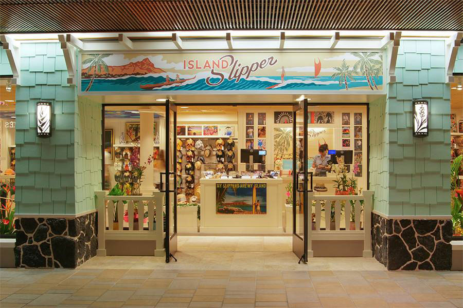 Island Slipper Waikiki Location
