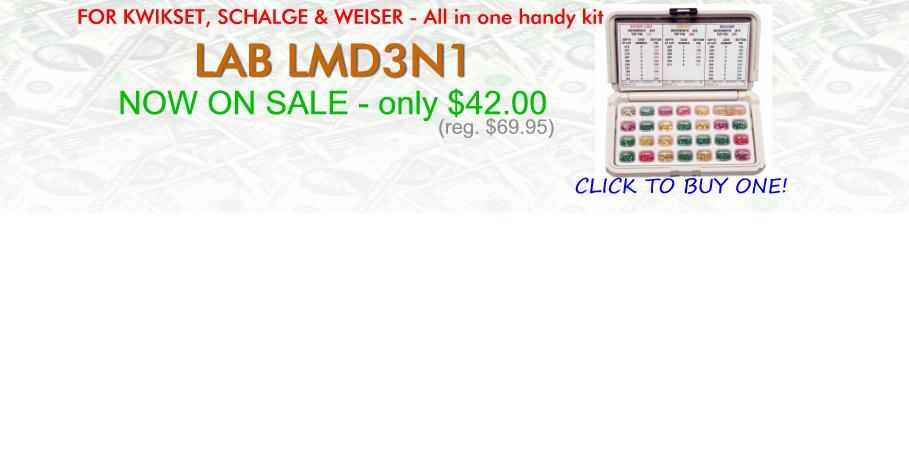 Sale on LMD3N1 Pin Kit