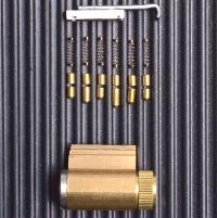 6-pin lock