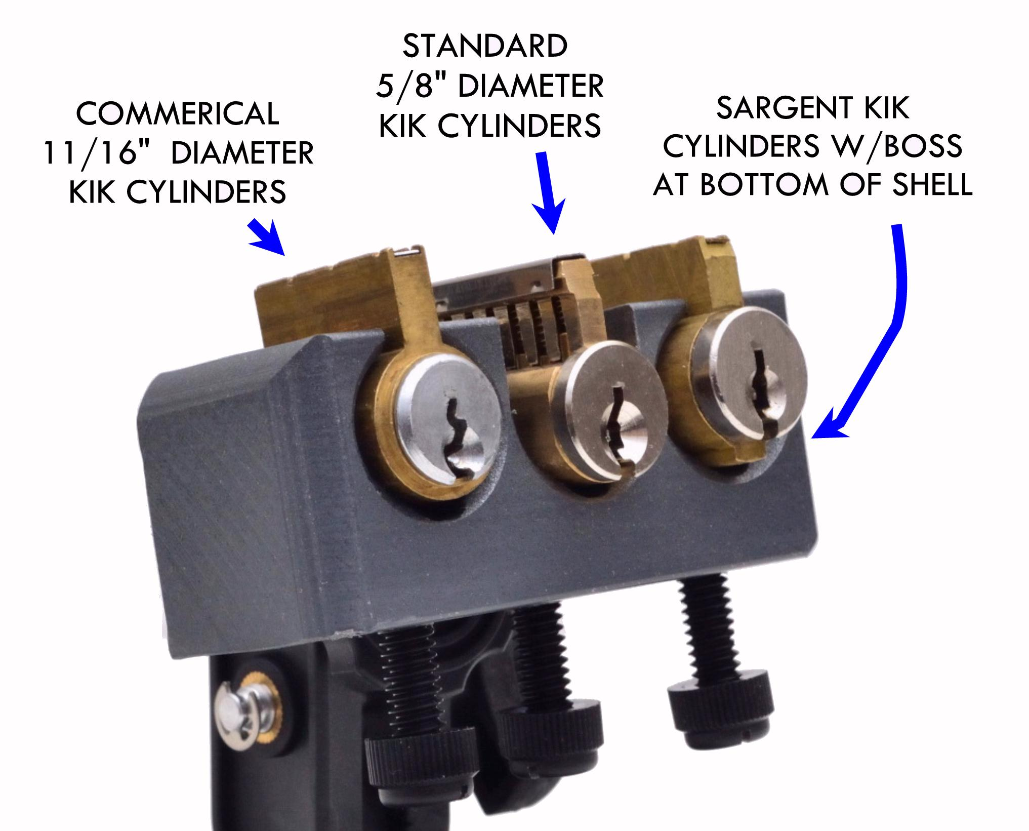 TriPik-II Mod XPC Practice Stand for KIK Lock Cylinders