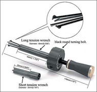 Cross Pick - Lock Picking Tool