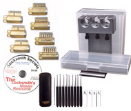 Advanced Lock Picking Practice Kit - Everything you need in one great kit!