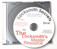 The Locksmith's Master Resource CD-ROM - 4 PDF eBooks on disc
