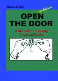 Open the Door Book, soft cover lock picking manual