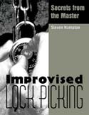 Improvised Lock Picking, book, Steve Hampton